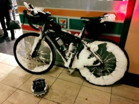 Mathias Dalgas Cykel på vej hjem