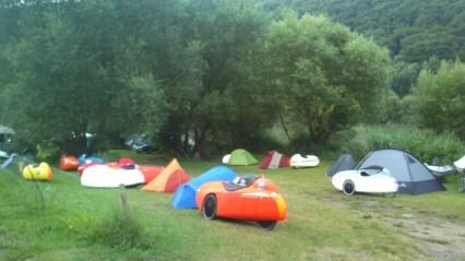 Morgen på camping ved Mosel floden (4)