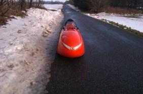 Sne væk fra vejen 26-12-2012