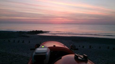 Solen nede 5 maj ved Skagen