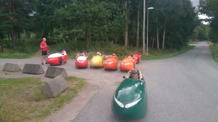 Velomobil tur til Marstrand Pause (2)