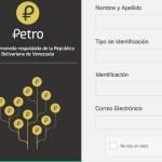 registros petros blockchain venezuela comprar petros criptomonedas y petromonedas