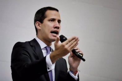 Juan Guaidó, imagen cortesía.