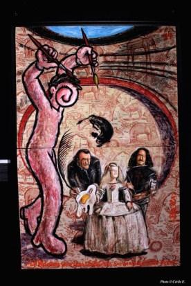 Paella Chimicos « fait le mur avec Dali »