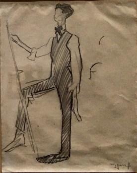 Caricature Amadeo de Souza-Cardoso