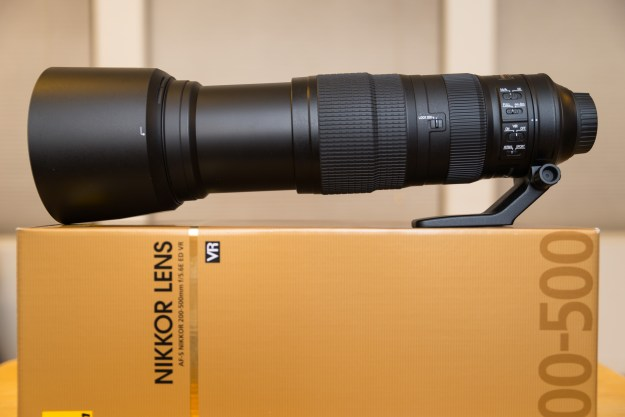 The Nikon AF-S 200-500mm f/5.6E ED VR Zoom Lens