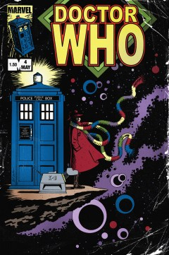 Retro Doctor Who cover