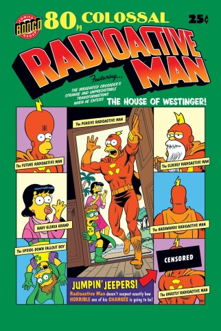 Radioactive Man retro cover