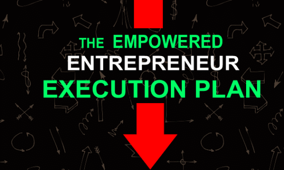 Empowered Entrepreneur Execution Plan Graphic
