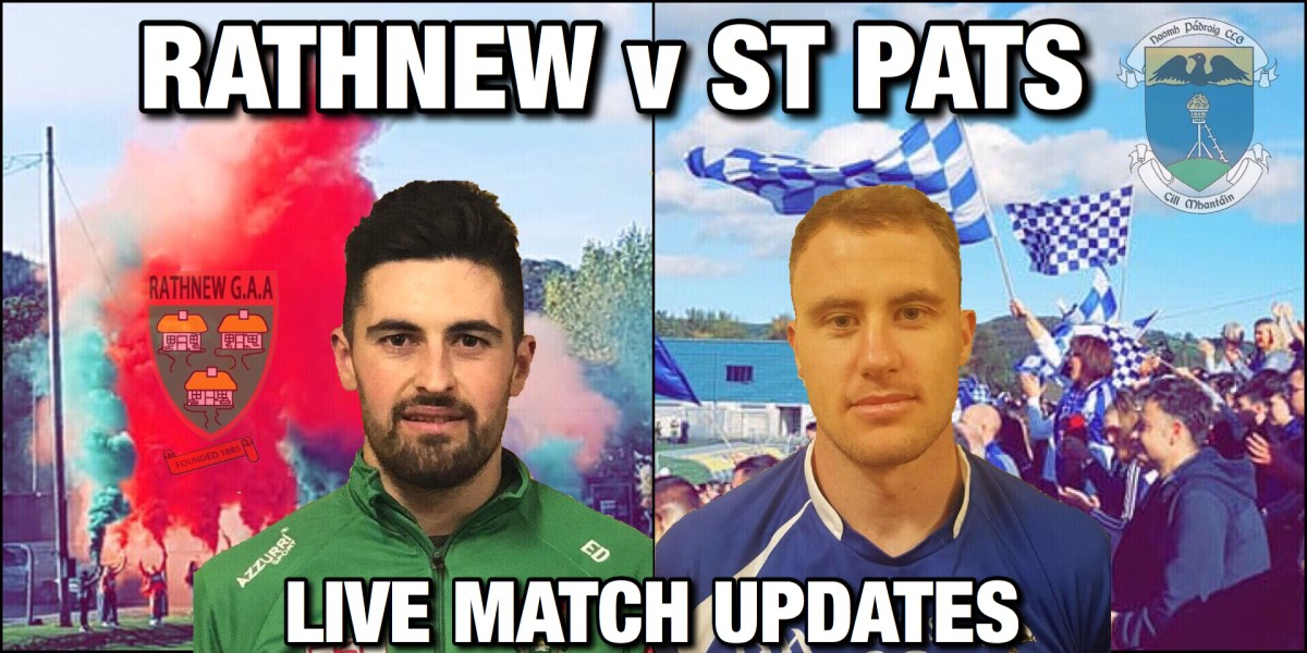 Rathnew v St Pats County Final Replay