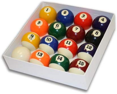 Empire USA Deluxe Pool Ball Set