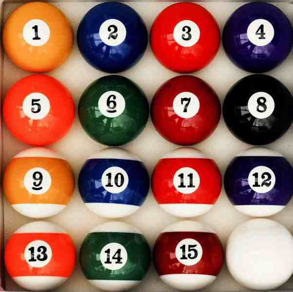 iszy billiard pool ball set