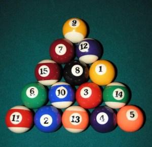 rack 8 ball pool