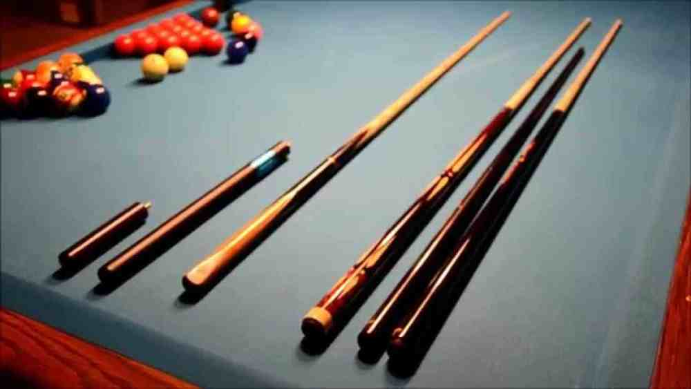 pool cue vs snooker cue