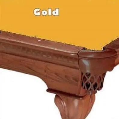 8' Gold ProLine Classic 303 Billiard Pool Table Cloth Felt