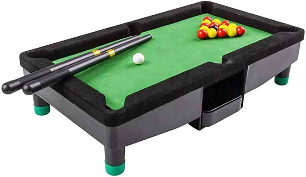 9 Inch Travel Mini Pool Table for Kids by Gamie