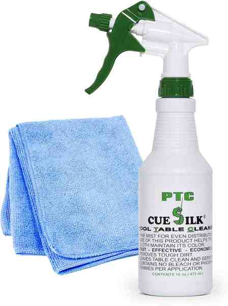 Cue Silk PTC Cleaner Bundle with Microfiber Cloth
