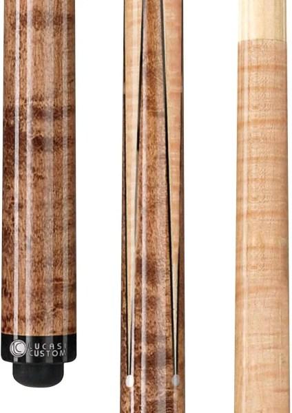 Lucasi Custom Birds-Eye Maple Sneaky Pete Low Deflection Shaft