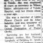 Billick, Agnes (1907-1967)