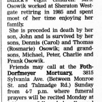Osowik, Helen (1918-2006)