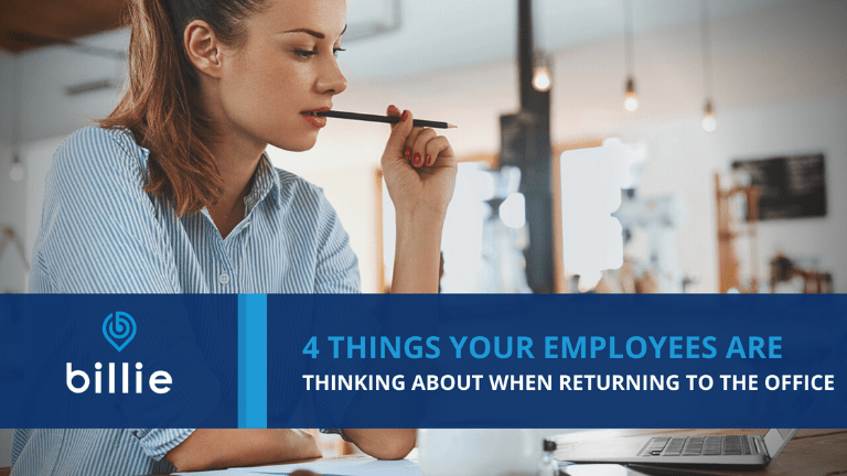 what employees are thinking about when returning to the office