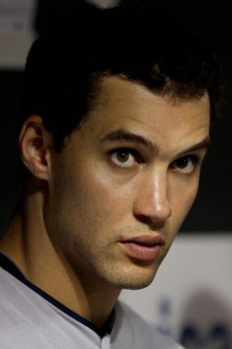 """""""Cleveland Indians center fielder Grady Sizemore looks toward home plate in the sixth inning of a baseball game against the Baltimore Orioles Friday, July 15, 2011 in Baltimore."""""""