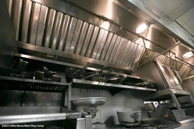 """""""A newly installed Eco Thermal Filter System is shown in the kitchen of The Stockyard Steakhouse restaurant in Brighton, Massachusetts Tuesday, February 10, 2015."""""""