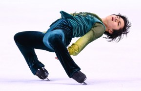 BOSTON, MA - APRIL 1: Shoma Uno of Japan competes during Day 5 of the ISU World Figure Skating Championships 2016 at TD Garden on April 1, 2016 in Boston, Massachusetts. (Photo by Billie Weiss - ISU/ISU via Getty Images) *** Local Caption *** Shoma Uno