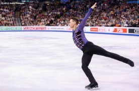 BOSTON, MA - APRIL 1: Adam Rippon of the United States competes during Day 5 of the ISU World Figure Skating Championships 2016 at TD Garden on April 1, 2016 in Boston, Massachusetts. (Photo by Billie Weiss - ISU/ISU via Getty Images) *** Local Caption *** Adam Rippon