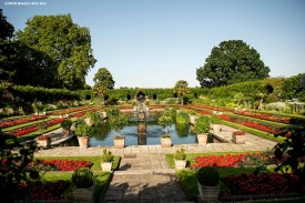 LONDON, ENGLAND - JUNE 27: The sunken garden is shown during the Mission Gratitude Gala in Cooperation with Home Base and the Red Sox Foundation ahead of the 2019 Major League Baseball London Series on June 27, 2019 at Kensington Palace in London, England. (Photo by Billie Weiss/Boston Red Sox/Getty Images) *** Local Caption ***