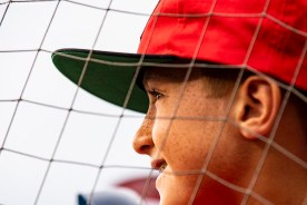 BOSTON, MA - JULY 31: A fan looks on before a game between the Boston Red Sox and the Tampa Bay Rays on July 31, 2019 at Fenway Park in Boston, Massachusetts. (Photo by Billie Weiss/Boston Red Sox/Getty Images) *** Local Caption ***