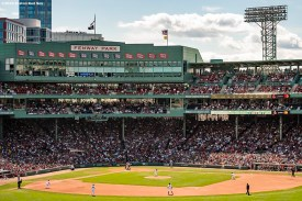 BOSTON, MA - AUGUST 11: A general view during a game between the Boston Red Sox and the Los Angeles Angels of Anaheim on August 11, 2019 at Fenway Park in Boston, Massachusetts. (Photo by Billie Weiss/Boston Red Sox/Getty Images) *** Local Caption ***