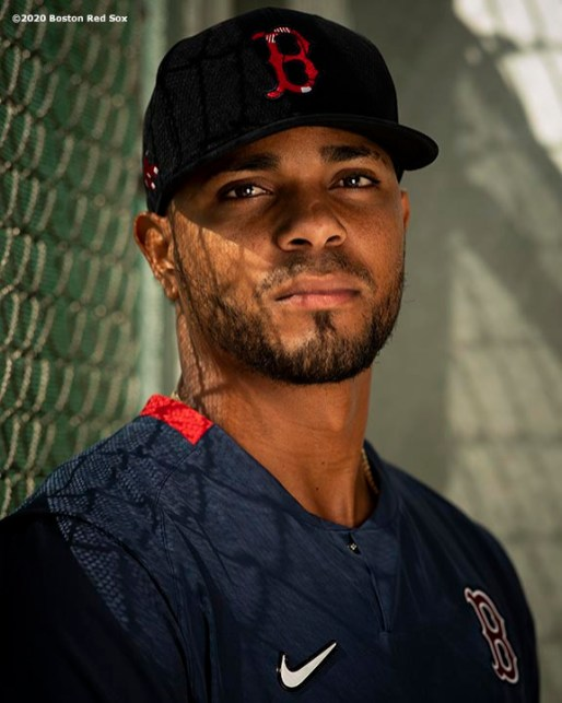 FT. MYERS, FL - FEBRUARY 25: Xander Bogaerts #2 of the Boston Red Sox poses for a portrait before a Grapefruit League game against the Baltimore Orioles on February 25, 2020 at jetBlue Park at Fenway South in Fort Myers, Florida. (Photo by Billie Weiss/Boston Red Sox/Getty Images) *** Local Caption *** Xander Bogaerts