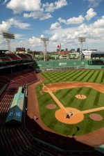 BOSTON, MA - AUGUST 9: A general view during a game between the Boston Red Sox and the Toronto Blue Jays on August 9, 2020 at Fenway Park in Boston, Massachusetts. The 2020 season had been postponed since March due to the COVID-19 pandemic. (Photo by Billie Weiss/Boston Red Sox/Getty Images) *** Local Caption ***