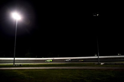 Drivers race during the Thompson 150 for the NASCAR Whelen Modified Tour at Thompson Speedway Motorsports Park in Thompson, Connecticut on September 3, 2020. (Billie Weiss/NASCAR)