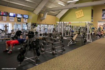 """The fitness center is shown at the Weymouth Club Tennis & Fitness Center in Weymouth, Massachusetts Sunday, December 21, 2014."""