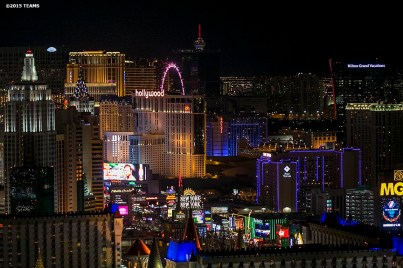 """The Las Vegas skyline is shown during the TEAMS Conference & Expo Las Vegas, Nevada Wednesday, November 11, 2015."""