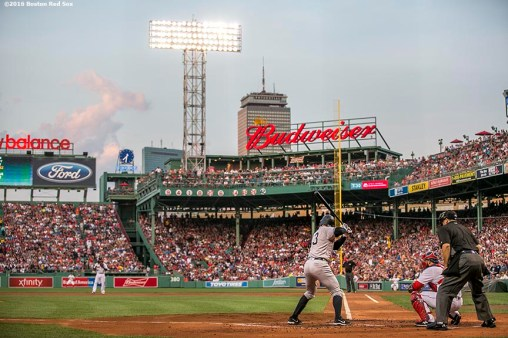 BOSTON, MA - AUGUST 11: Alex Rodriguez #13 of the New York Yankees bats during the second inning of a game against the Boston Red Sox on August 11, 2016 at Fenway Park in Boston, Massachusetts.(Photo by Billie Weiss/Boston Red Sox/Getty Images) *** Local Caption *** Alex Rodriguez