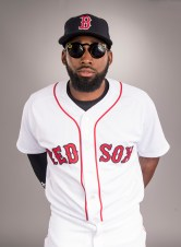 FT. MYERS, FL - FEBRUARY 19: Jackie Bradley Jr. of the Boston Red Sox poses for a portrait during photo day on February 19, 2017 at Fenway South in Fort Myers, Florida . (Photo by Billie Weiss/Boston Red Sox/Getty Images) *** Local Caption *** Jackie Bradley Jr.