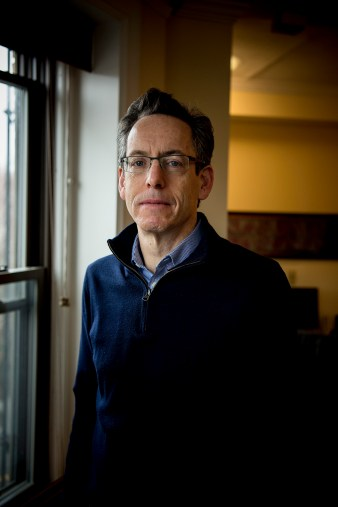 March 29, 2017, Brookline, MA: Michael Caplan poses for a portrait at his office in Brookline, Massachusetts Wednesday, March 29, 2017. (Photo by Billie Weiss/Lyra Health)