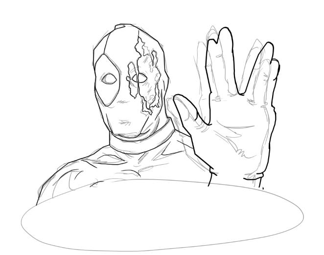 Deadpool Billi French