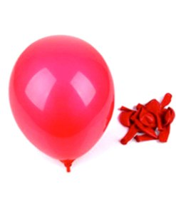 """Billige """"non toxic"""" røde balloner til børnefødselsdag"""