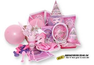 Bøernefødselsdag med Prinsesse tema