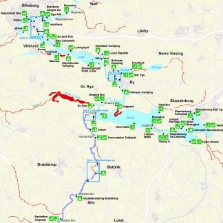 Book en 4-dages kanotur fra Åstedbro