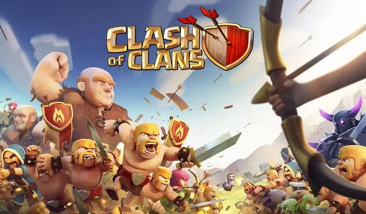 clash of clans crashing after update
