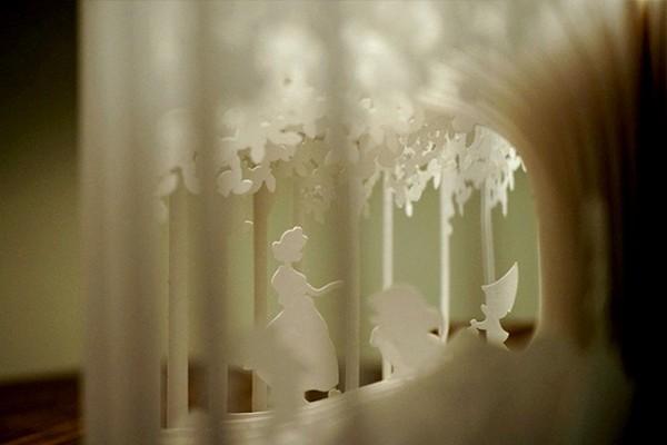 Трехмерная сказка о Белоснежке от Yusuke Oono (6 фото)