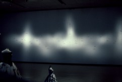 Bill Jones, Second Sight, Installation view, The Castellani Art Museum, Niagra Falls, NY, 1994.