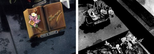 Bill Jones, Les Crimes de l' Amour, 1978, Colour and black and white photographs, 40.6 x 1219 cm, 16 x 480 in. (detail diptych 1). Collection The Art Bank