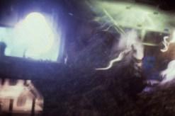 Bill Jones, Blue Maroon, midi controlled slide projections, 1996