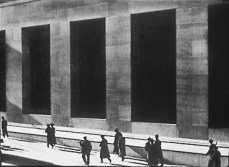 """Paul Strand, """"Wall Street,"""" perhaps his most well-known piece"""